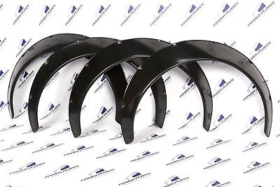 Universal JDM Fender Flares over wide body wheel arches ABS 100mm 4Pcs