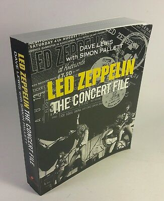 led zeppelin concert file book