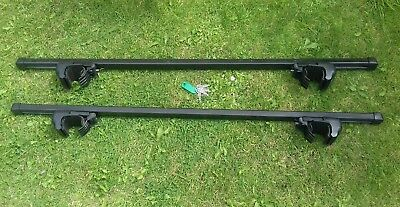 Thule locking universal roof bars picclick uk for Thule 1254