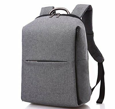 Laptop Backpack Grey for 17 Inches Laptop - Notebook Backpack - By Utopia Home