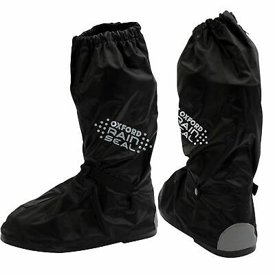 Oxford Rainseal Waterproof Motorbike Motorcycle Elasticated Adjustable Overboots