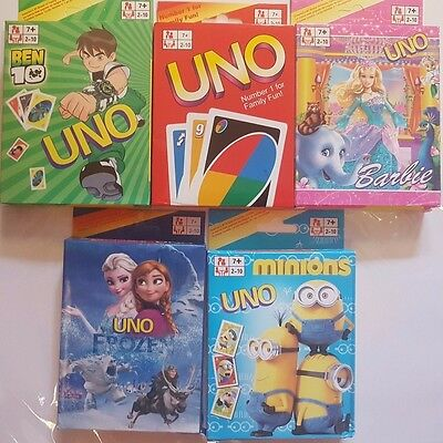 New Cartoon UNO 108 Card Game Paper Playing Card Family Fun Party Gifts