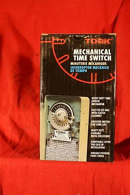 Tork Model 7200 24 Hour Time Switch, 120VAC, DPST, 40A