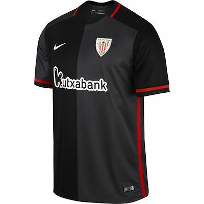 Nike Athletic Bilbao Official 2015/ 2016 Ss Dri-Fit Away Stadium Football Shirt