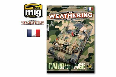 AMMO OF MIG A.MIG-4269 The Weathering Magazine 20 Camouflage French