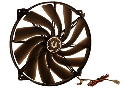 BitFenix Spectre 200mm Black Tinted Transparent Fan with RED-LED , 200x20mm, Flu