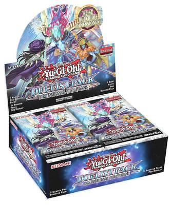 Yu-Gi-Oh! Duelist Pack Dimensional Guardians Display (36 Booster) Neu & OVP