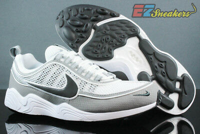 335dcbd07caf9 Nike Air Zoom Spiridon Sprdn White Black Light Ash Grey 849776-101 New Sz