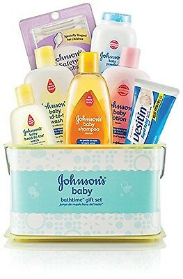 NEW Bathtime Essentials Baby Care Gift Set Johnson's Baby Products Lotion Powder