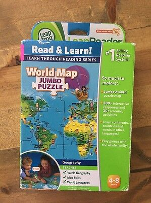 Leapfrog leapreader interactive world map works with tag double leapfrog tag leapreader interactive world map puzzle gumiabroncs Gallery
