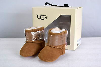 Infant UGG 1018452/CHE Jessie Bow II Booties Chestnut