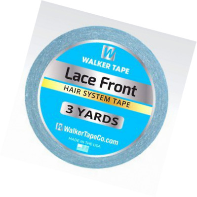 Double Sided Adhesive Lace Front Support Tape Roll Wig Blue Tape Strong Sticky