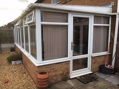 Conservatory UPVC large 3m x 5 9m • £450 00 Pic UK