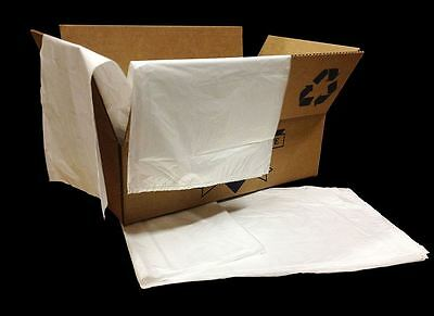 Colonial Bag Trash Garbage Liners, Clear, 60 Gallon, 38 X 58 Inch  (200 Count)