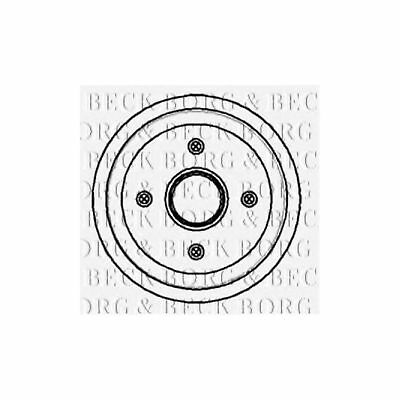 Variant2 Borg & Beck Rear Brake Drum Genuine OE Quality Replacement