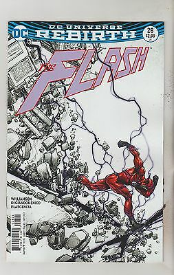 Dc Comics Flash #28 October 2017 Rebirth Variant 1St Print Nm