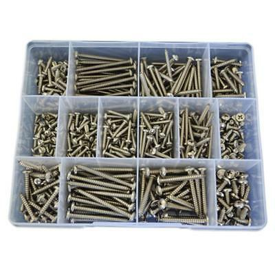 Mixed Head Self Tapping Screw Assortment Kit 6g 8g 10g Stainless G316 #57