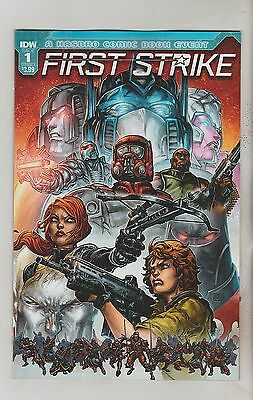 Idw Comics First Strike #1 August 2017 Variant A 1St Print Nm