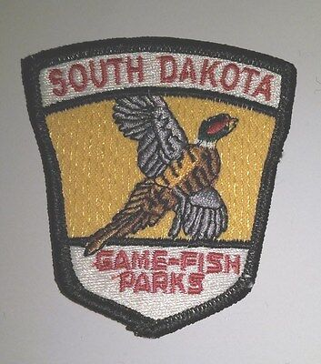 South Dakota Game-Fish-Parks, Embroidered Patch, circa 1998, MINT, Made in USA
