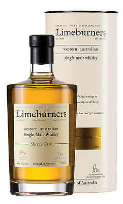 Limeburners Single Malt Sherry Cask Australian Whisky 700ml (Boxed)