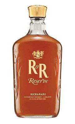 Rich & Rare Reserve Blended Canadian Whisky 750ml
