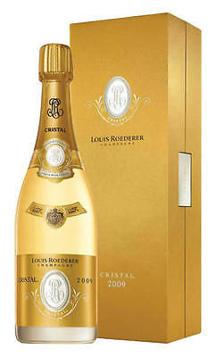 Louis Roederer Cristal Vintage 2009 Champagne 750ml (Boxed)