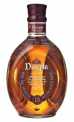 Dimple 15YO Scotch Scotch Whisky 1 Litre (Boxed)