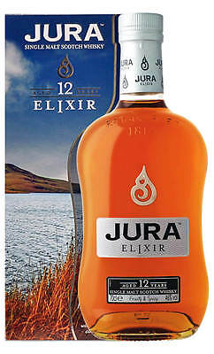 Jura 12YO Elixir Single Malt Scotch Whisky 700ml (Boxed)