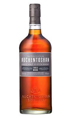 Auchentoshan Three Wood Scotch Whisky  700ml (Boxed)