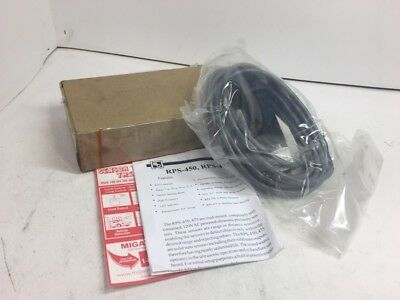 Migatron Corp. Ultrasonic Sensor With 12 Foot Cable Rps-450-30