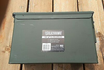50cal M2A1 Military Ammo Can box chest, New Blackhawk Sportster