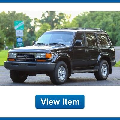 1996 Toyota Land Cruiser Base Sport Utility 4-Door 1996 Toyota Land Cruiser 3rd Row Serviced Clean Carfax FJ80 Rare