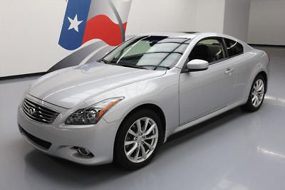 2013 Infiniti G37 X Coupe 2-Door 2013 INFINITI G37X AWD PREM SUNROOF NAV HTD LEATHER 14K #981987 Texas Direct