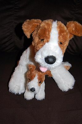 Build a Bear LOT OF 2 DOGS JACK RUSSELLS