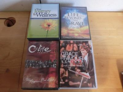 AUDIOBOOK Christian Religious Self Help lot of 24 Cd, And Dvd