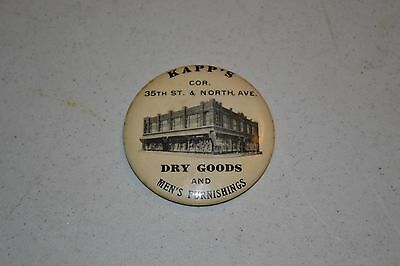 Kapp's Dry Goods Pocket Mirror 2 1/4""