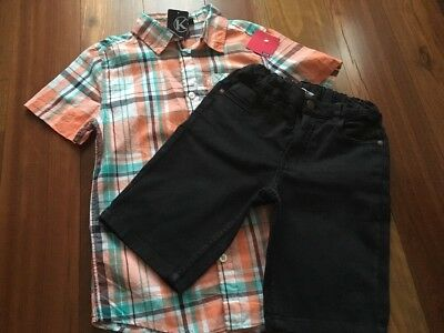 Kiabi Short Sleeve Shirt Size 10