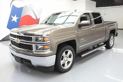 "2014 Chevrolet Silverado 1500 LT Crew Cab Pickup 4-Door 2014 CHEVY SILVERADO 1500 LT CREW TEXAS 20"" WHEELS 28K #155848 Texas Direct Auto"