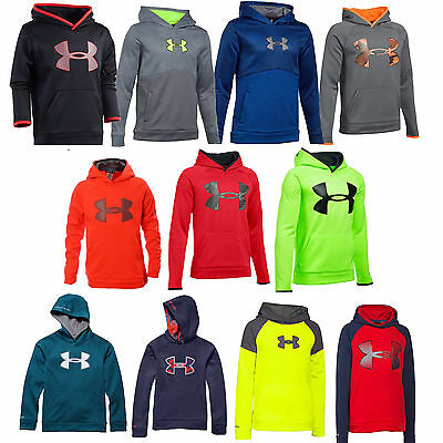 Under Armour Youth Boys Hoodie Storm Sweatshirt - Youth S M L XL - New w/ Tags
