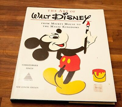 The Art of Disney Book From Mickey Mouse to the Magic Kingdoms