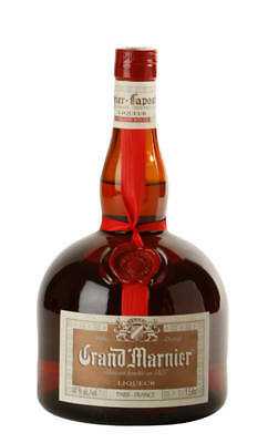 Grand Marnier Cordon Rouge French Liqueur 1 Litre (Boxed)