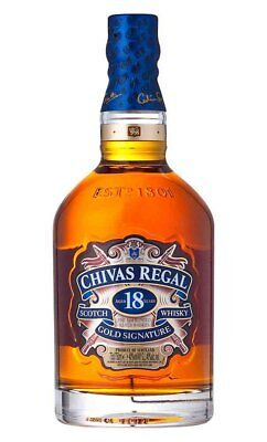 Chivas Regal 18YO Gold Signature Scotch Whisky 750ml (Boxed)