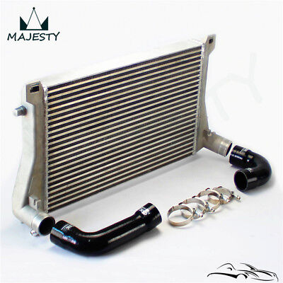 Intercooler + Hose Kit For A3/S3 / VW Golf GTI R MK7 EA888 1.8T 2.0T TSI Black