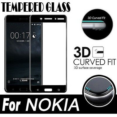 9H Full Coverage Tempered Glass Screen Protector for NOKIA 7.2 2.2 6.1 5.1 2.1