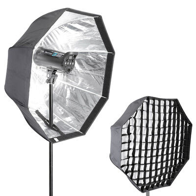 "Neewer 47"" Octagonal Umbrella Type Speedlite Softbox with Grid for Photography"