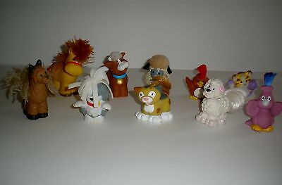 Fisher Price Little People Figures  10 Assorted Animals Touch & Feel