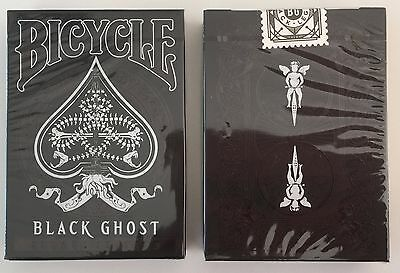Bicycle Ellusionist Black Ghost Deck Legacy Edition US Playing Cards Magic Poker