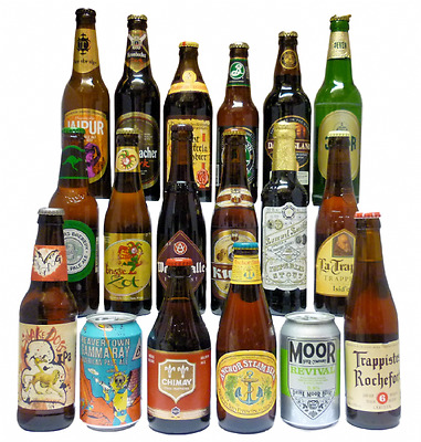 18 World Beers Selection