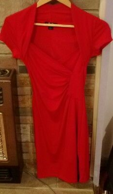 red dress ckm size 8