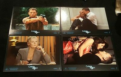 James Bond Casino Royale Exclusive UK Promo Postcards (9) Daniel Craig